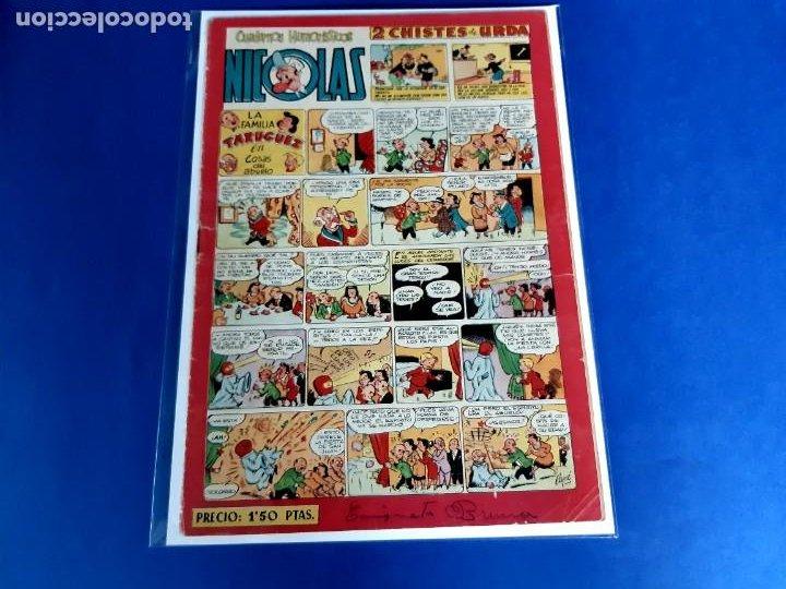 NICOLAS Nº 81 ORIGINAL EDICIONES CLIPER 1948 (Tebeos y Comics - Cliper - Otros)