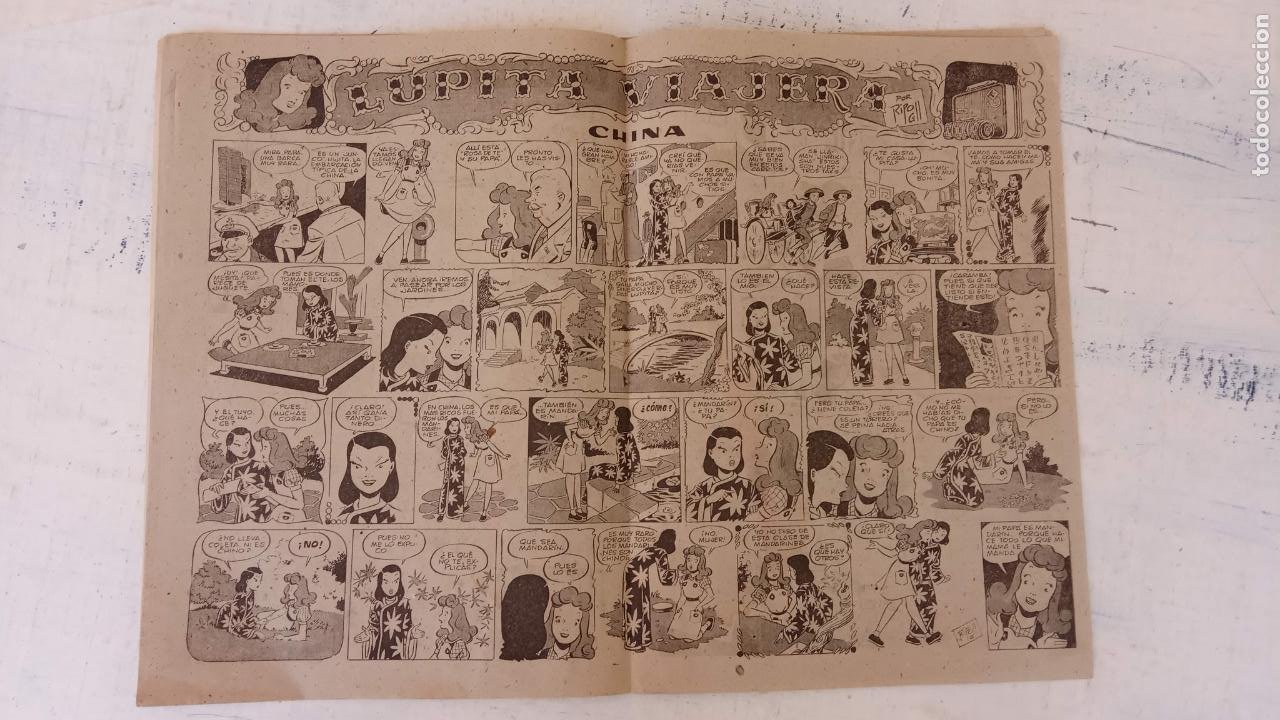 Tebeos: LUPITA Nº 8 EDITORIAL CLIPER - GERPLA - Foto 4 - 209627973