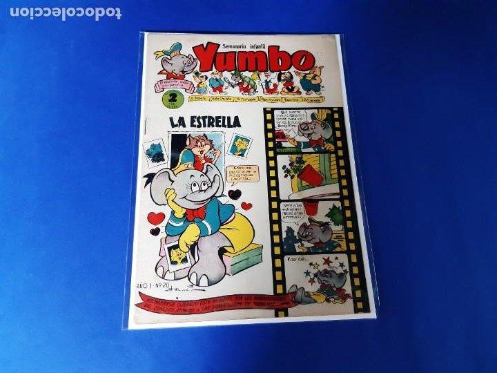 YUMBO Nº 20 CLIPER- BUEN ESTADO (Tebeos y Comics - Cliper - Yumbo)