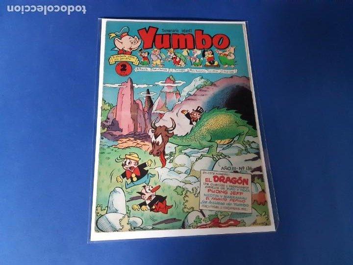 YUMBO Nº 136 CLIPER- BUEN ESTADO (Tebeos y Comics - Cliper - Yumbo)
