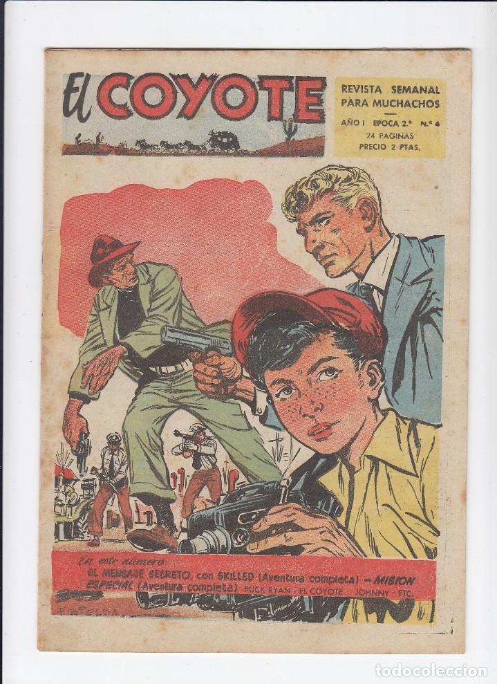 Tebeos: Lote de 15 tebeos de El Coyote. Ediciones Cliper. Originales. - Foto 3 - 210830975