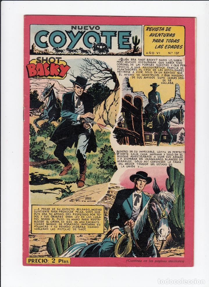 Tebeos: Lote de 15 tebeos de El Coyote. Ediciones Cliper. Originales. - Foto 5 - 210830975