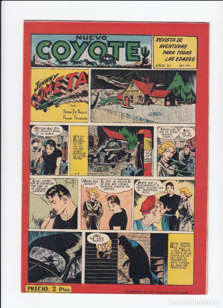 Tebeos: Lote de 15 tebeos de El Coyote. Ediciones Cliper. Originales. - Foto 9 - 210830975