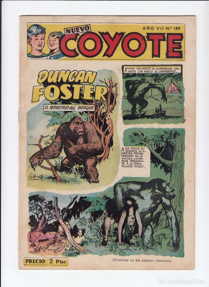 Tebeos: Lote de 15 tebeos de El Coyote. Ediciones Cliper. Originales. - Foto 13 - 210830975