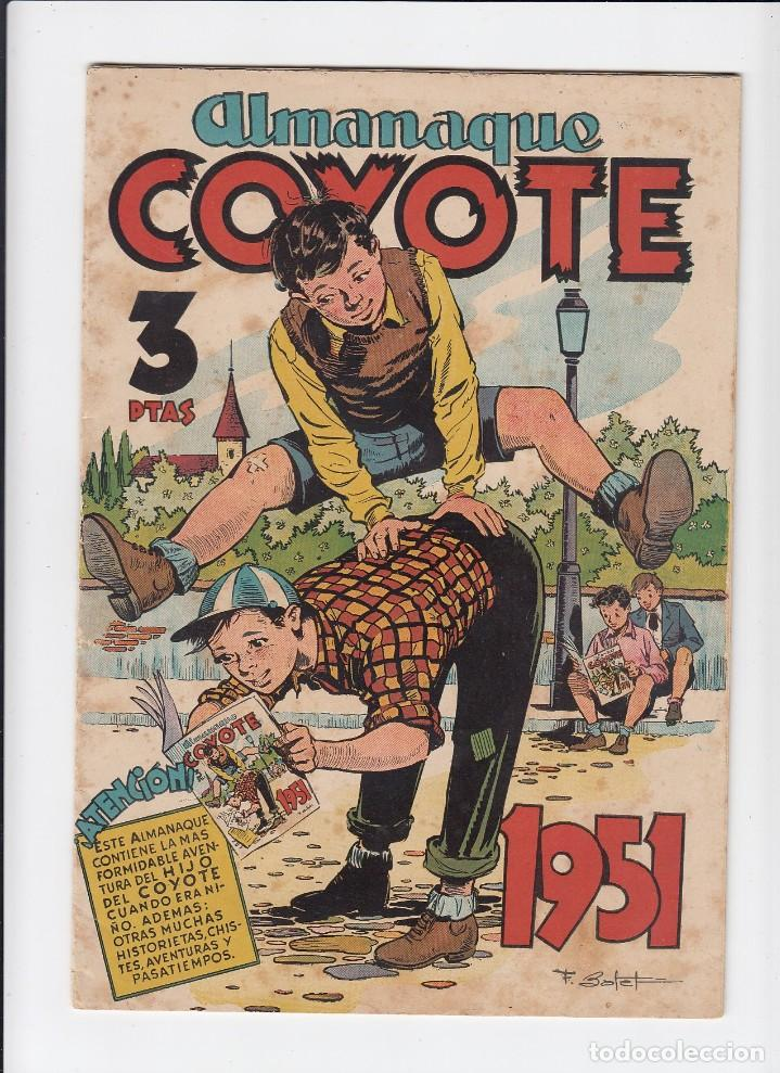 Tebeos: Lote de 15 tebeos de El Coyote. Ediciones Cliper. Originales. - Foto 15 - 210830975