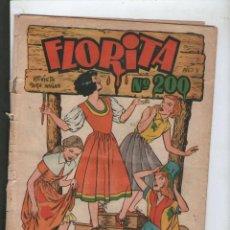 Tebeos: FLORITA ORIGINAL Nº 200.DA. Lote 211557692