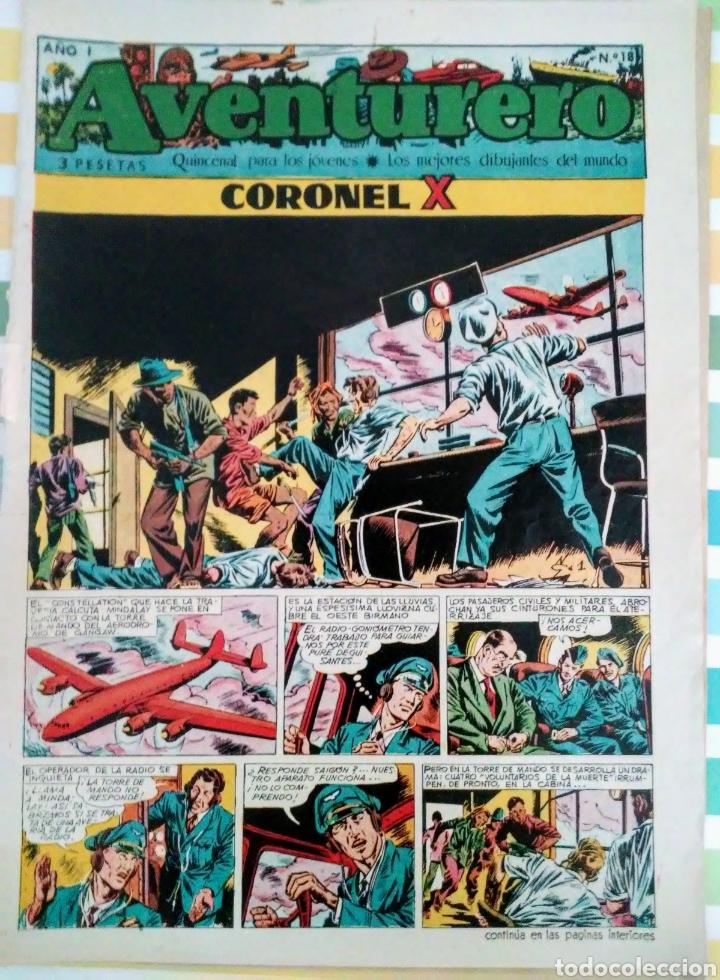 Tebeos: Coronel X nº 18 y 24 aventurero año I ed. futuro cliper - Foto 2 - 211574767