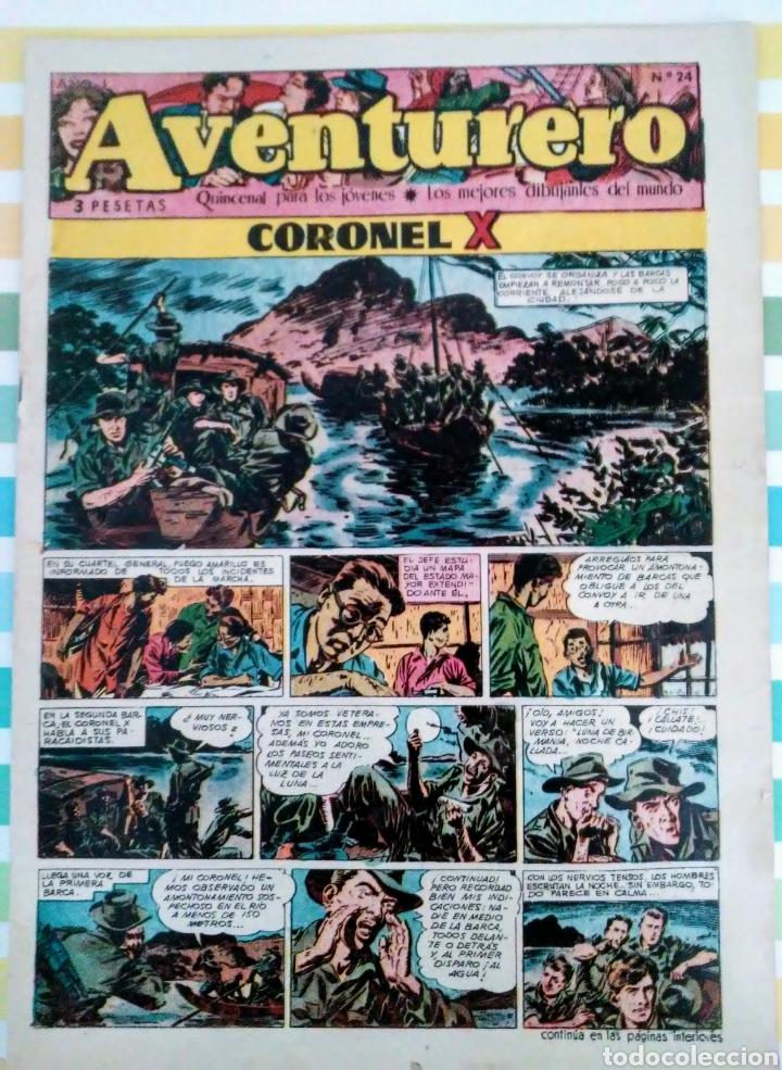 Tebeos: Coronel X nº 18 y 24 aventurero año I ed. futuro cliper - Foto 6 - 211574767