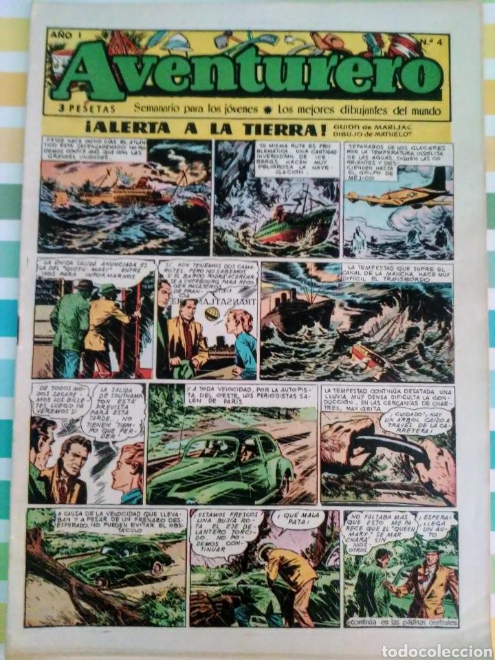 Tebeos: Alerta a la Tierra nº 1, 2, 3, 4, 5, 6, 7 y 8 aventurero año I ed. futuro cliper - Foto 8 - 211580310