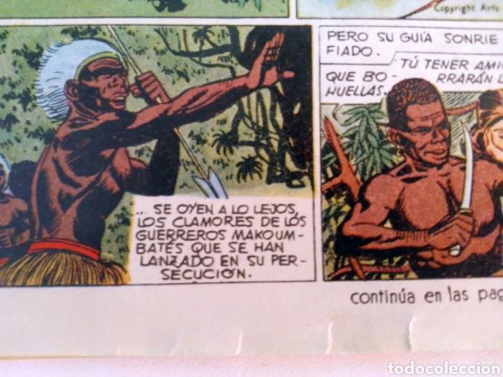 Tebeos: Sombras blancas nº 14,15,16 y 17 aventurero año I ed. futuro cliper - Foto 3 - 211582050