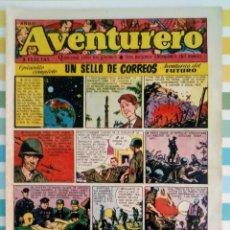 Tebeos: UN SELLO DE CORREOS AVENTURERO Nº 30 AÑO II ED.FUTURO CLIPER. Lote 211583015