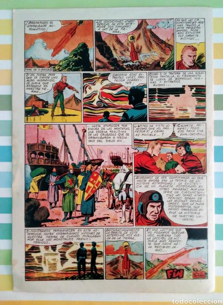 Tebeos: lote aventurero nº 25, 26 y 27 Ted Powers el monstruo, mundos gemelos y asteroide fotografico - Foto 3 - 211584034