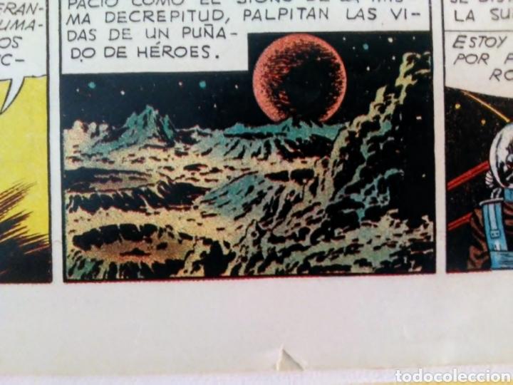 Tebeos: lote aventurero nº 25, 26 y 27 Ted Powers el monstruo, mundos gemelos y asteroide fotografico - Foto 5 - 211584034