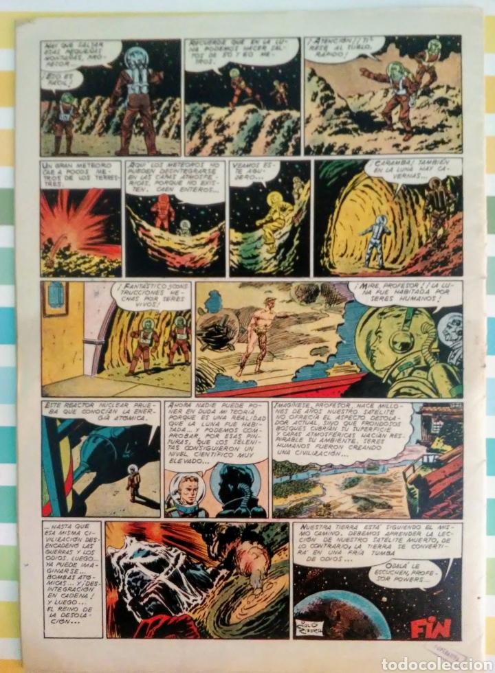 Tebeos: lote aventurero nº 25, 26 y 27 Ted Powers el monstruo, mundos gemelos y asteroide fotografico - Foto 6 - 211584034