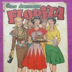 Tebeos: TEBEO FLORITA GRAN ALMANAQUE 1952 ED. CLIPER. Lote 211656014