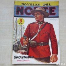 Tebeos: CHAQUETA ROJA POR ROB H CURTIS DIBUJOS BATET 1945 NOVELAS DEL NORTE EDITORIAL CLIPER. Lote 212147855