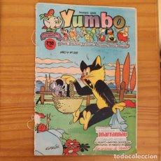 Tebeos: YUMBO 209 RAF, SEGURA, SALVADOR MESTRES, AYNE, POPEYE... EDICIONES CLIPER. Lote 215322181