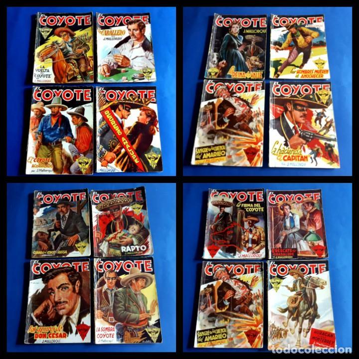 LOTE DE 50 -EL COYOTE-INCLUYE LOS NUMEROS 1- 2 - 4 - 5 - ( NUMEROS BAJOS-VER NUMERACION ) (Tebeos y Comics - Cliper - El Coyote)