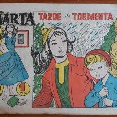 Tebeos: MARTA CLIPER Nº 4 CARMEN BARBERÁ TARDE DE TORMENTA 1958. Lote 215971501