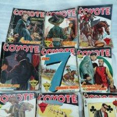 Tebeos: LOTE 9 CÓMICS COYOTE AÑOS 40 HAY PRIMERAS EDICIONES ENVIO GRATIS. Lote 216008618