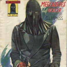 Tebeos: EL ENCAPUCHADO (MERCADERES DEL DOLOR) EDICIONES CLIPPER 1ª EDICION 1947. Lote 216839565