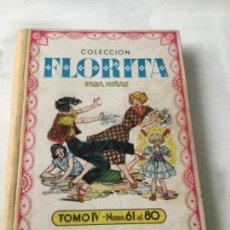 Tebeos: FLORITA- VOLUMEN IV. Lote 216957485