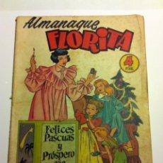 Tebeos: FLORITA -ALMANAQUE 1955. Lote 217194177
