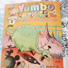 Tebeos: YUMBO N.º 139 ED. CLIPER 1953 ILUSTRACIONES DE AYNE SERNA... ORIGINAL DE EPOCA. Lote 217492443