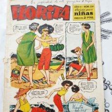 Tebeos: FLORITA N.º 254 ED. CLIPPER 1949 PORTADA DE VICENTE ROSO ORIGINAL DE EPOCA. Lote 217492727