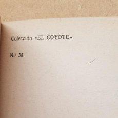 Tebeos: Nº 38 OTRA VEZ EL COYOTE. Lote 218497593