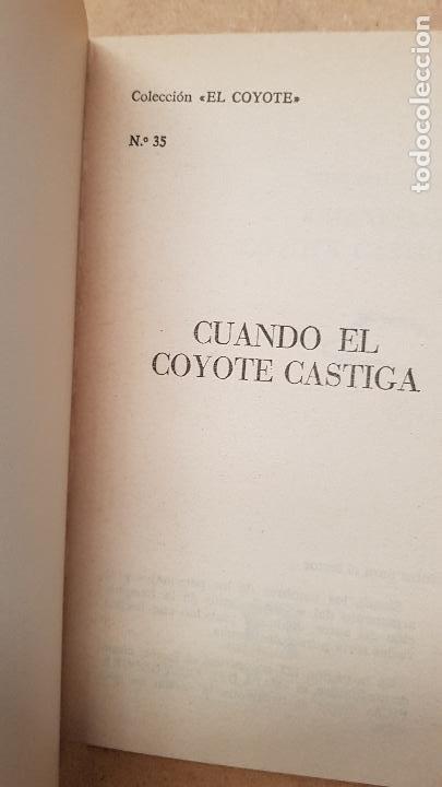 Nº 35 CUANDO EL COYOTE CASTIGA (Tebeos y Comics - Cliper - El Coyote)