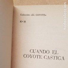 Tebeos: Nº 35 CUANDO EL COYOTE CASTIGA. Lote 218497611