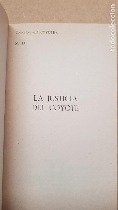 Nº 13 LA JUSTICIA DEL COYOTE (Tebeos y Comics - Cliper - El Coyote)