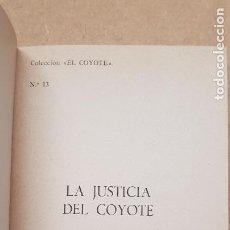 Tebeos: Nº 13 LA JUSTICIA DEL COYOTE. Lote 218497697