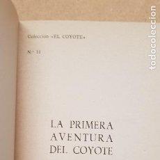 Tebeos: Nº 11 LA PRIMEWRA AVENTURA DEL COYOTE. Lote 218497725