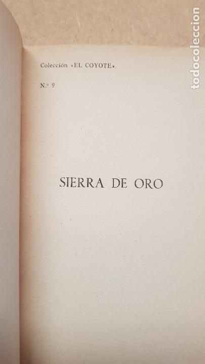 Nº 9 SIERRA DE ORO (Tebeos y Comics - Cliper - El Coyote)