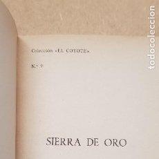Tebeos: Nº 9 SIERRA DE ORO. Lote 218497766