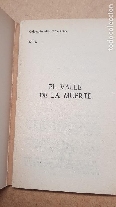 Nº 4 EL VALLE DE LA MUERTE (Tebeos y Comics - Cliper - El Coyote)