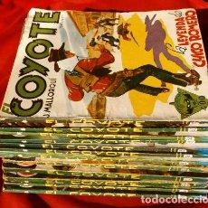 Tebeos: EL COYOTE - LOTE 12 EJEMPLARES (1ª EDICION ORIGINAL) J. MALLORQUÍ - EDICIONES CLIPER. Lote 219735198
