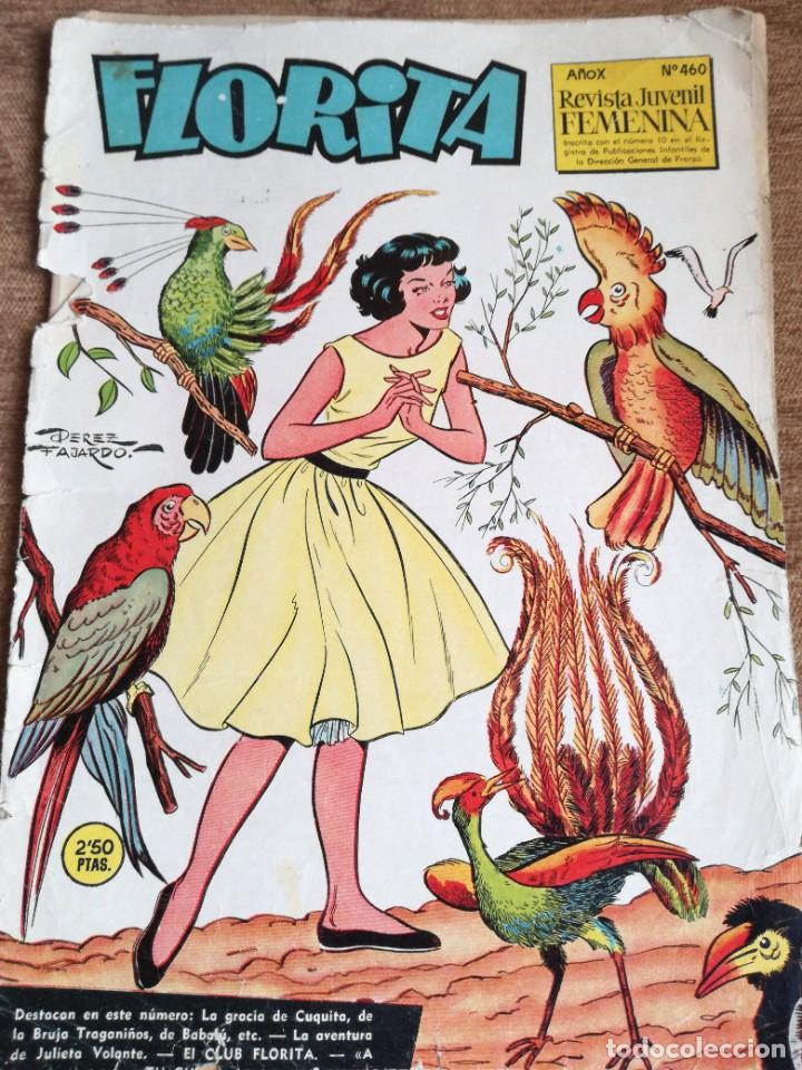 FLORITA NUM 460 (Tebeos y Comics - Cliper - Florita)