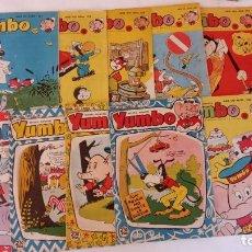 Livros de Banda Desenhada: YUMBO NºS 341,354,356,378,381,382,400,404,406,410, LOTE RESERVADO. Lote 220661227