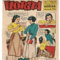 Tebeos: FLORITA. REVISTA PARA NIÑAS. Nº 229. EDICIONES CLIPER. (TRO/14). Lote 220664292