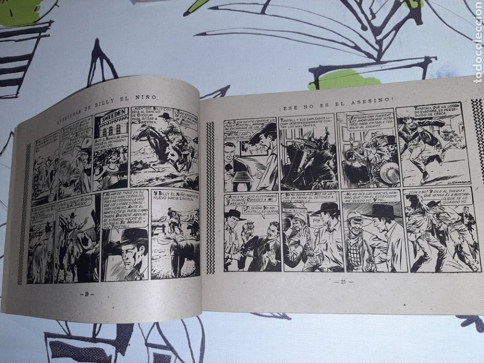 Tebeos: Billy el niño, Ediciones Cliper, Original y como nuevo - Foto 3 - 221411020
