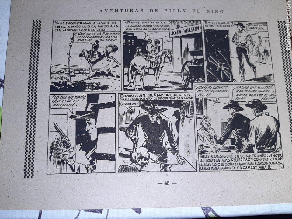 Tebeos: Billy el niño, Ediciones Cliper, Original y como nuevo - Foto 4 - 221411020