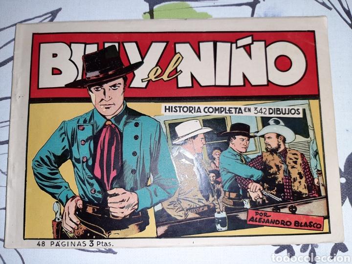 BILLY EL NIÑO, EDICIONES CLIPER, ORIGINAL Y COMO NUEVO (Tebeos y Comics - Cliper - Otros)