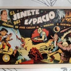 Livros de Banda Desenhada: EL JINETE DEL ESPACIO, TEBEO DE 48 PAGINAS DE FRANCISCO DARNÍS MUY NUEVO. Lote 221495951