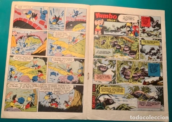 Tebeos: CÓMIC YUMBO NÚMERO 401 AÑO IX DEL 1958 - Foto 10 - 221821987