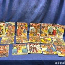 Tebeos: 17 NUMEROS EL COYOTE ED CLIPER 1ª EDICION VER DESCRIPCION 19,5X14,5CMS. Lote 224034858