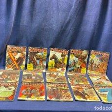 Tebeos: 15 NUMEROS EL COYOTE ED CLIPER 1ª EDICION VER DESCRIPCION 19,5X14,5CMS. Lote 224035925