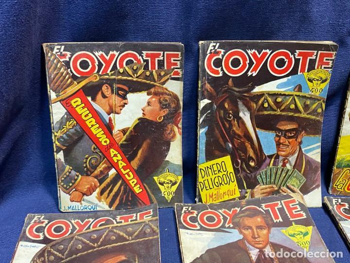 Tebeos: 15 numeros el coyote ed cliper 1ª edicion ver descripcion 19,5x14,5cms - Foto 2 - 224035925